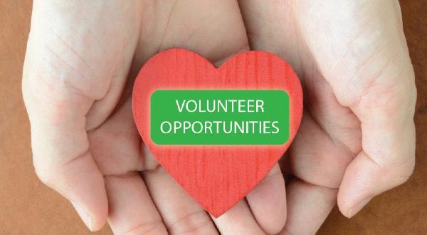 Volunteer Opportunities banner